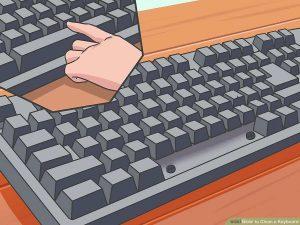 Như nào để làm sạch bàn phím